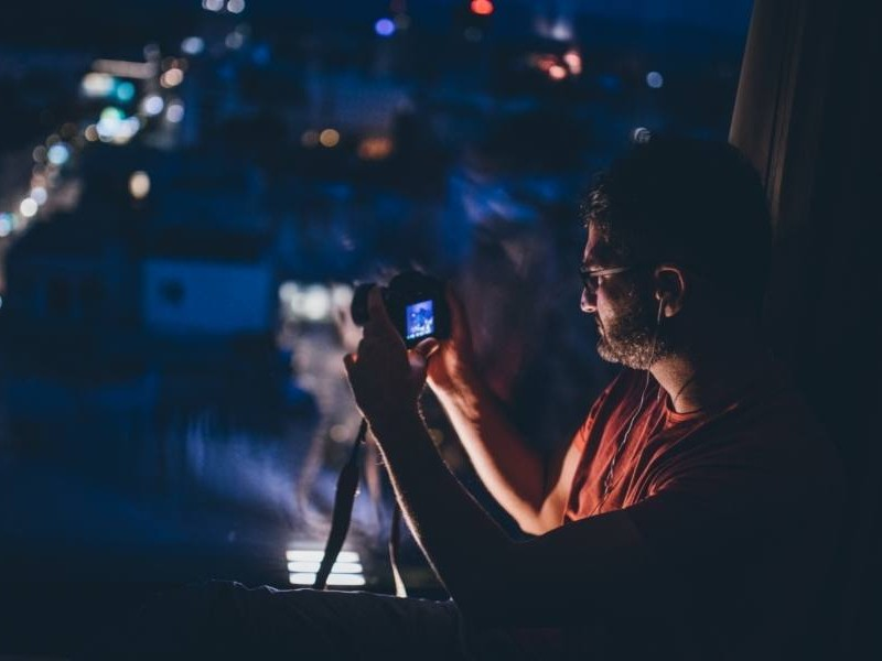 Φωτογραφίζοντας πάνω σε τρίποδο